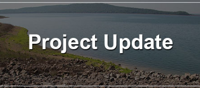 ROUND VALLEY RESERVOIR PROGRESS UPDATE: 04/22/21